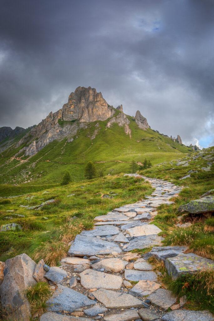 Sentiero per il Lago della Vacca
